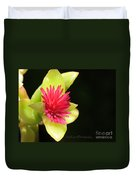 Flower - Delicate As Life Duvet Cover
