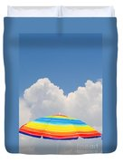 Color In The Sky Duvet Cover