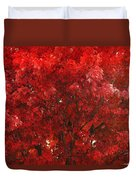 Color In The Tree 02 Duvet Cover