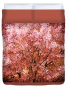 Color In The Tree 03 Duvet Cover