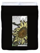 Color Me Sunflower Duvet Cover