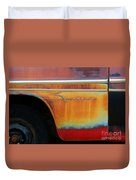 Color Of Rust Duvet Cover