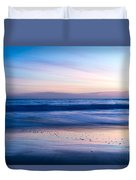 Color Of Sea And Sky Duvet Cover