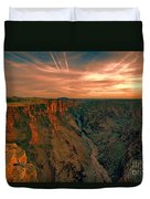 Color Of The Grand Canyon South Rim V8 Duvet Cover