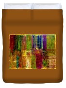 Color Panel Abstract Duvet Cover