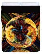 Color Power Collage Duvet Cover