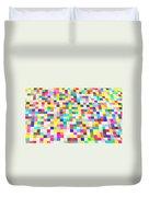 Color Quilt Duvet Cover