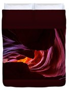 Color Ribbons Duvet Cover by Chad Dutson