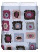 Color Study For Morning Lake Duvet Cover