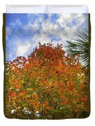 Color To The Sky Duvet Cover