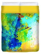 Color Wash Abstract Duvet Cover
