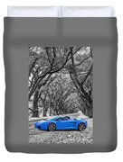 Color Your World - Lamborghini Gallardo Duvet Cover by Steve Harrington