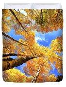 Colorado Autumn Sky Duvet Cover