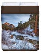 Colorado Creek Duvet Cover by Darren  White