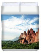 Colorado - Garden Of The Gods Duvet Cover