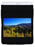 Colorado Landscape Duvet Cover