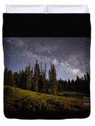 Colorado Milky Way Duvet Cover