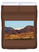 Colorado Mountain High Duvet Cover