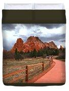 Colorado Path To Paradise Duvet Cover