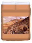 Colorado Plateau Sandstone Arizona Duvet Cover