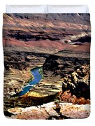 Colorado Rapids Grand Canyon Duvet Cover