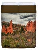 Colorado Red Rock Landcape Duvet Cover