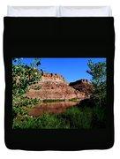 Colorado River At Moab Duvet Cover