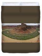 Colorado River Gooseneck Duvet Cover