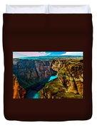 Colorado River Grand Canyon Duvet Cover