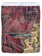 Colorado River In Grand Canyon Duvet Cover