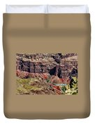 Colorado River In The Grand Canyon High Water Duvet Cover