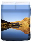 Colorado River Reflection Duvet Cover