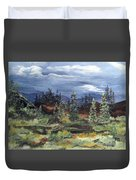 Colorado Skies Duvet Cover