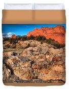 Colorado Springs Icon Duvet Cover
