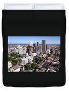 Colorado State Capitol Building Denver Duvet Cover