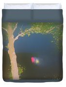 Colored Falls Duvet Cover