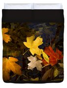 Colored Floaters Duvet Cover