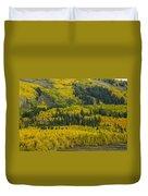 Colored Hillside Duvet Cover