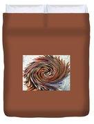 Colored Pencil Rose Duvet Cover