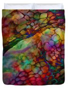 Colored Tafoni Duvet Cover