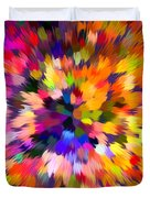 Colorful Abstract Background Duvet Cover