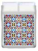 Colorful Angles Pattern Duvet Cover