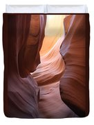 Colorful Antelope Canyon Waves Duvet Cover
