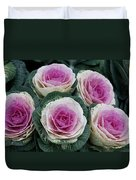 Colorful Cabbage  Duvet Cover