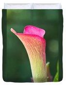 Colorful Calla Duvet Cover