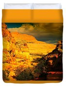 Colorful Capital Reef Duvet Cover by Jeff Swan