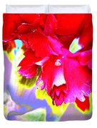 Colorful Carnation Duvet Cover