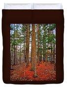 Colorful Carolina Forest Duvet Cover