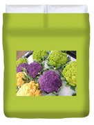 Colorful Cauliflower Duvet Cover