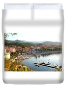 Colorful Collioure Duvet Cover